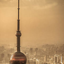 Alejandro Reyna - Orient Pearl Tower View