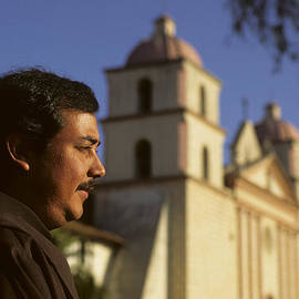 David Litschel - Padre at Santa Barbara Mission