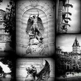 Carol Groenen - Paris Collage - Black and White