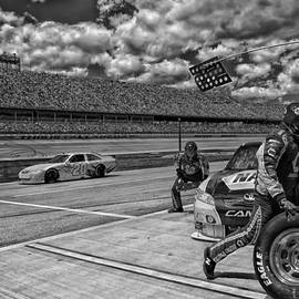 Mountain Dreams - Pit Crew in Action at Talladega