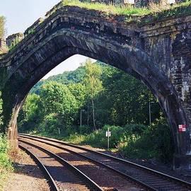 Marcus Dagan - Railroad Tracks In Wales # 2