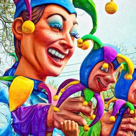 Steve Harrington - Rex Mardi Gras Parade XI - Paint