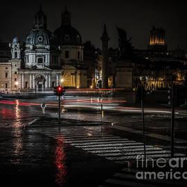 Irena Sowinska - Rome by night