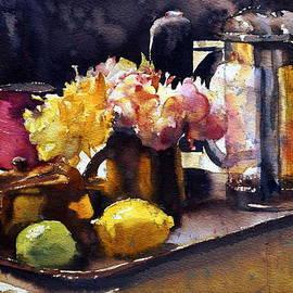 Andre MEHU - Roses and tea pot
