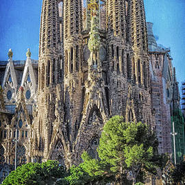 Joan Carroll - Sagrada Familia Nativity Facade