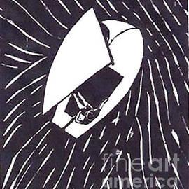 Fred Jinkins - Sailing Woodcut Print