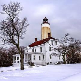 Geraldine Scull   - Sandy Hook Lighthouse