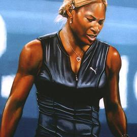 Paul  Meijering - Serena Williams
