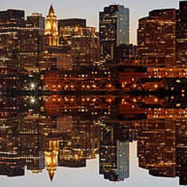 Juergen Roth - Skyline Panorama of Boston