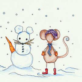 Sarah LoCascio - Snow Mouse and Friend