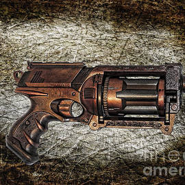 Paul Ward - Steampunk - Gun - The Multiblaster