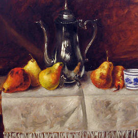 Vladimir Kezerashvili - Still life with pears