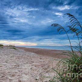 Dawna  Moore Photography - Stormy Sunrise Amelia Island Florida