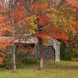 Jeff Folger - Sugarhouse in autumn