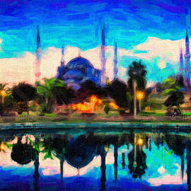 Celestial Images - Sultan Ahmed The Blue Mosque