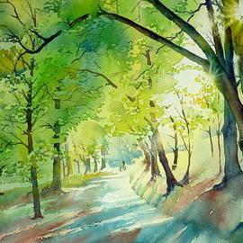 Thomas Habermann - Summer evening in the park