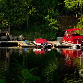 Les Palenik - Summer morning on Muskoka River