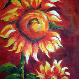 Maureen Ghetia - Sunflower Sunset