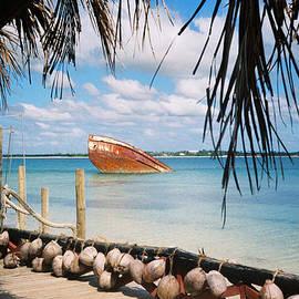 Christine Rivers - Sunken Boat Pangai Motu Tonga