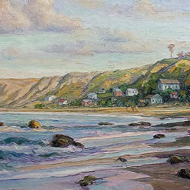 Lynn T Bright - Sunrise at Crystal Cove Cottages