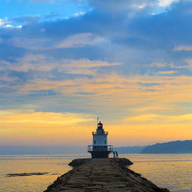 Diane Diederich - Sunrise at Spring Point Lighthouse
