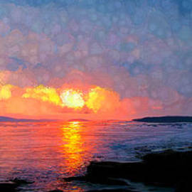 Bruce Nutting - Sunset Panorama
