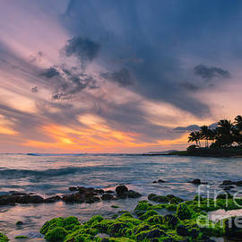Henk Meijer Photography - Sunset Poipu Beach - Kauai