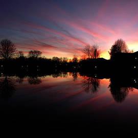 William Henley - Sunset Reflection