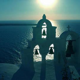 Colette V Hera  Guggenheim  - Sunset Santorini Greece