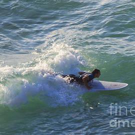 Brian Roscorla - Surfer Chapel Porth Cornwall