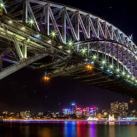 Paradigm Blue - Sydney Harbour Bridge