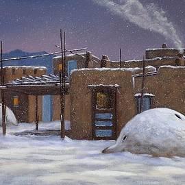 John Durand - Taos Winter