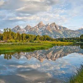 Jeff Goulden - Teton Range Reflected in the Snake River