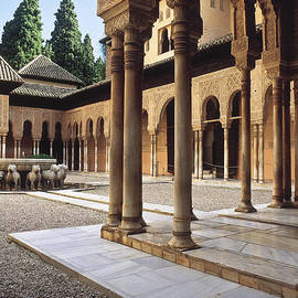 Guido Montanes Castillo - The Alhambra The Court of the Lions