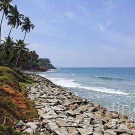 Robert Preston - The Coast at Varkala in Kerala India