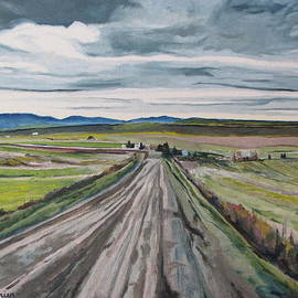 Francois Fournier - The Gravel Road LaPatrie Quebec Canada