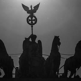 Colin Utz - The Quadriga On The Brandenburg Gate Berlin Germany