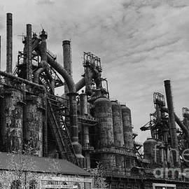 Paul Ward - The Steel Mill in Black and White