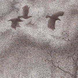 Wayne Hardee - Three Crows