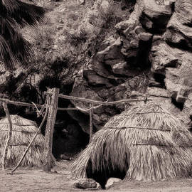 Sandra Selle Rodriguez - Traditional Cahuilla Indian Huts