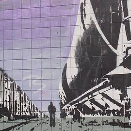 Brent Dolliver - Train Graffiti