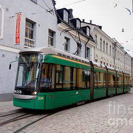 Thomas Marchessault - Tram on Helsinki Street