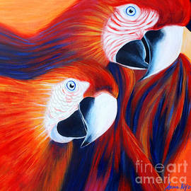 Oksana Semenchenko - Two Parrots. Inspirations Collection.
