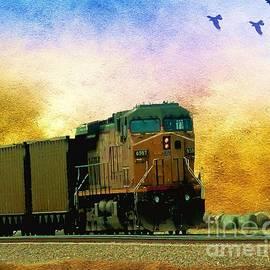 Janette Boyd - Union Pacific Coal Train
