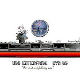 George Bieda - USS Enterprise CVN 65 2012