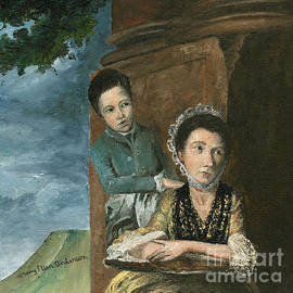 Mary Ellen Anderson - Vintage Mother and Son