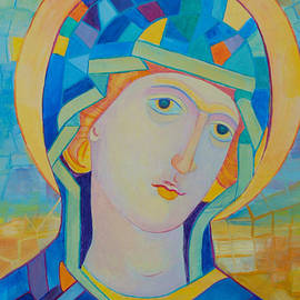 Magdalena Walulik - Virgin Mary contemporary icon