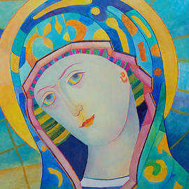 Magdalena Walulik - Virgin Mary modern catholic icon