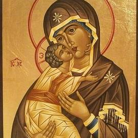 Doru Ionut Pustianu - Virgin Mary With Baby Jesus