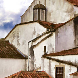 David Letts - Weathered Buildings of the Medieval Village of Obidos